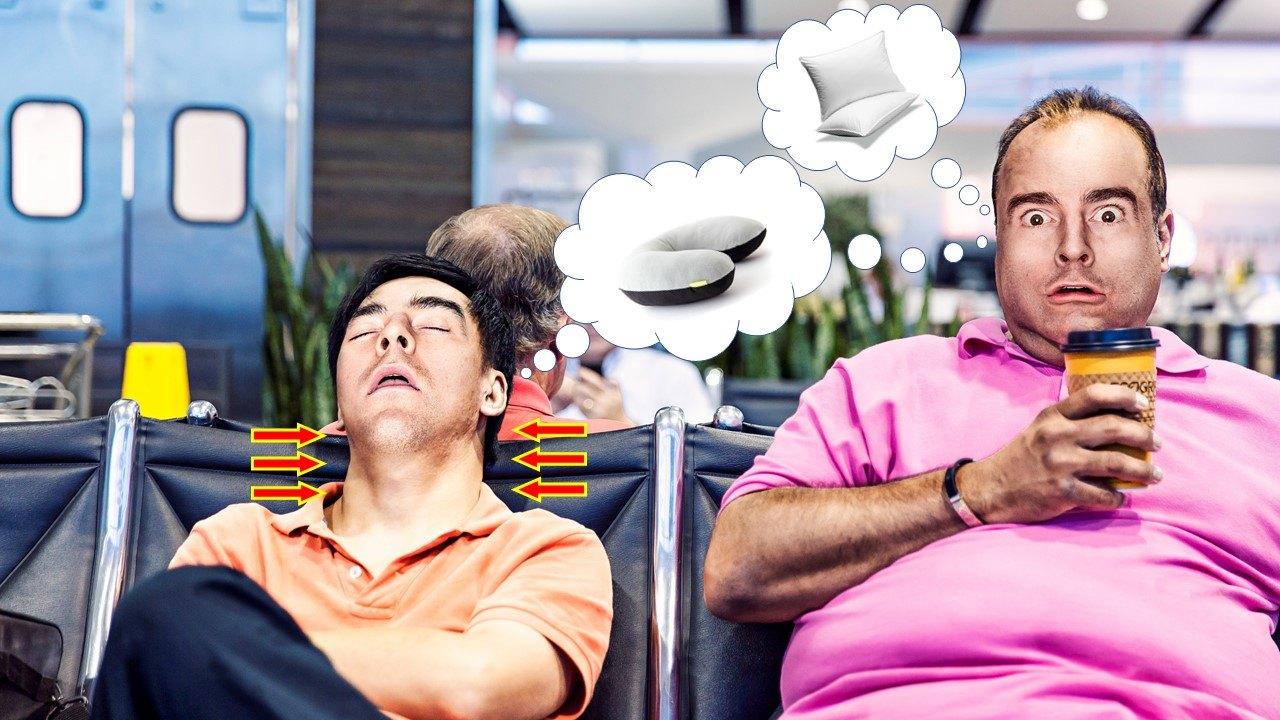 Best Neck Pillows for Sleeping in Long Flights