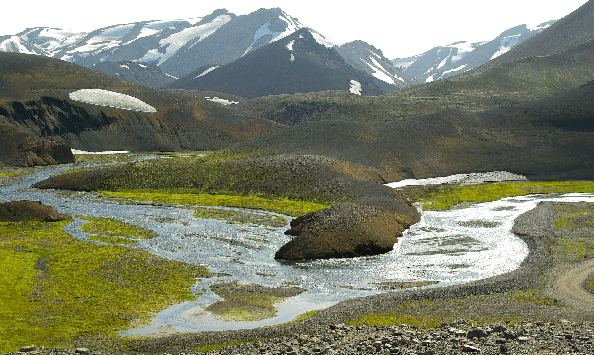 Best Places to Visit in Northern Europe - landmannalaugar