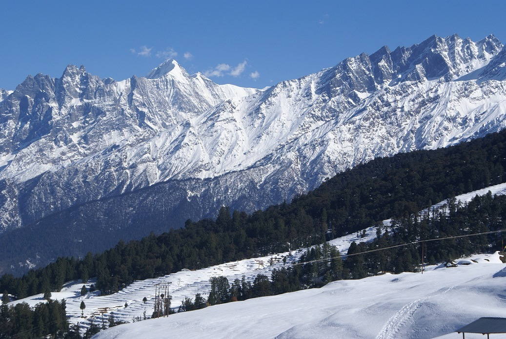 Auli is one the Best Places to Visit in the Summer in India