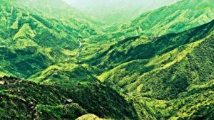 Laitlum: The Lush Green Canyon at the Edge of the World