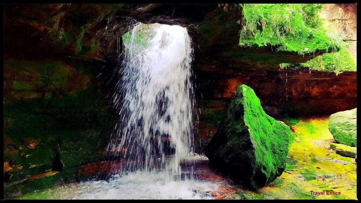 Cherrapunji Tourist Places - Garden of Caves