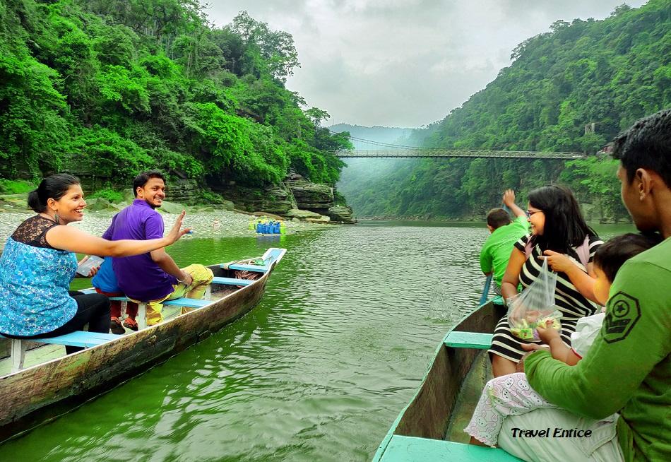 Dawki river trip at Dawki in Meghalaya
