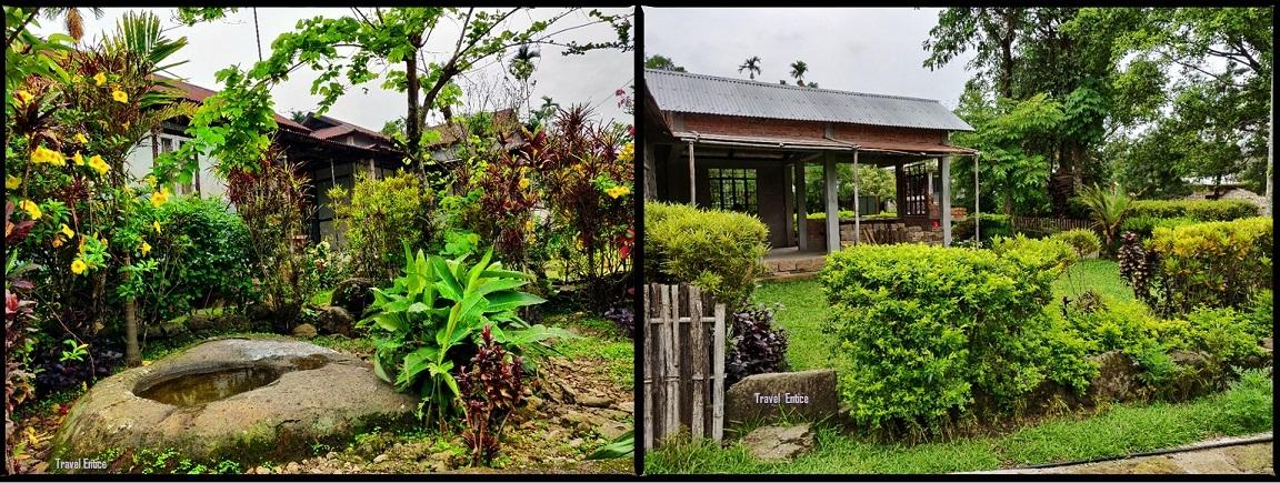 Mawlynong Village houses.