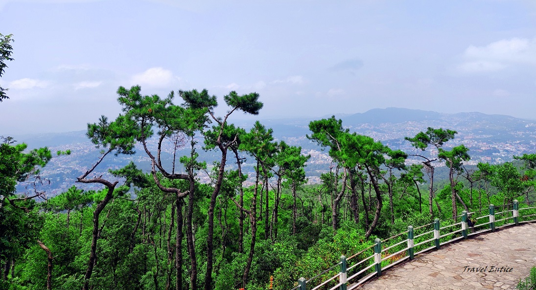 Places to visit in shillong - Shillong peak.