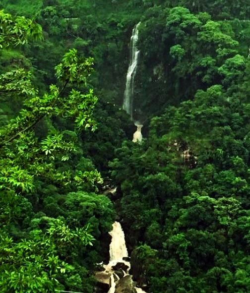 Best Places to visit in Shillong - bishop falls.
