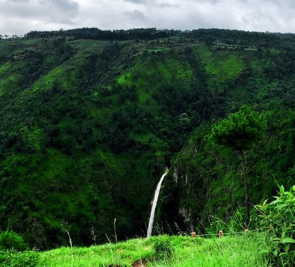 Best places to visit in Shillong - sweet falls.