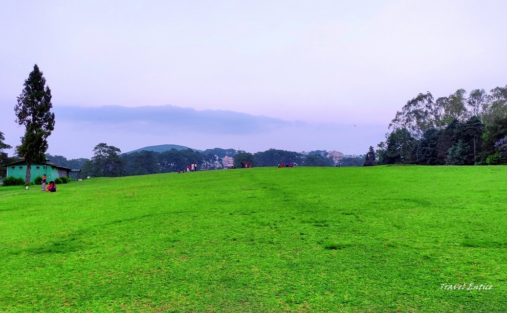 Best places to visit in Shillong - Golf course.