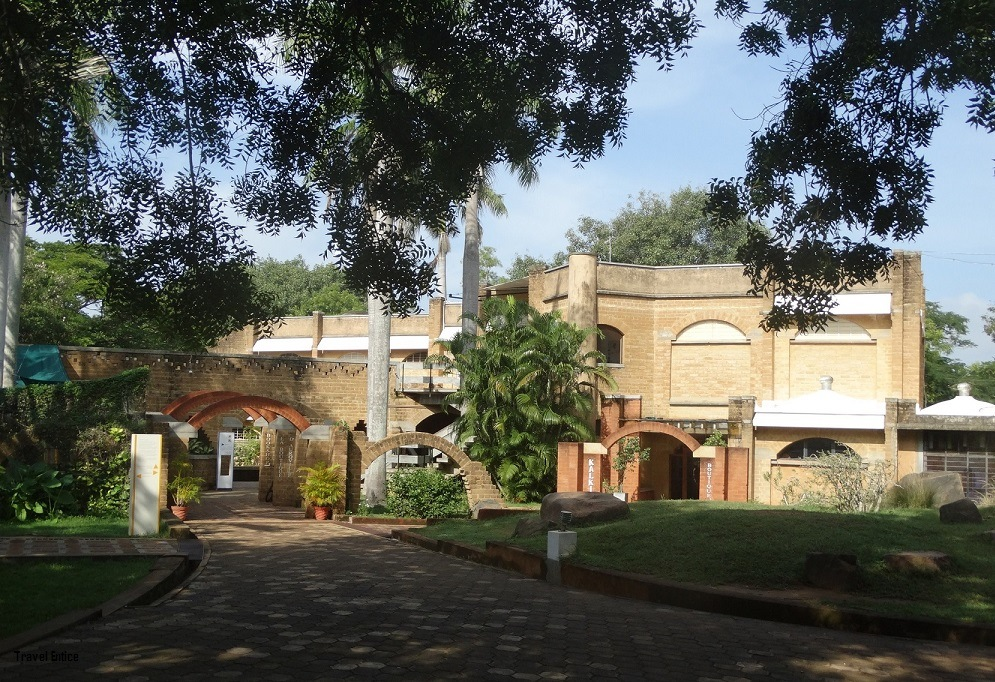 Things to Do in Pondicherry – Auroville entrance