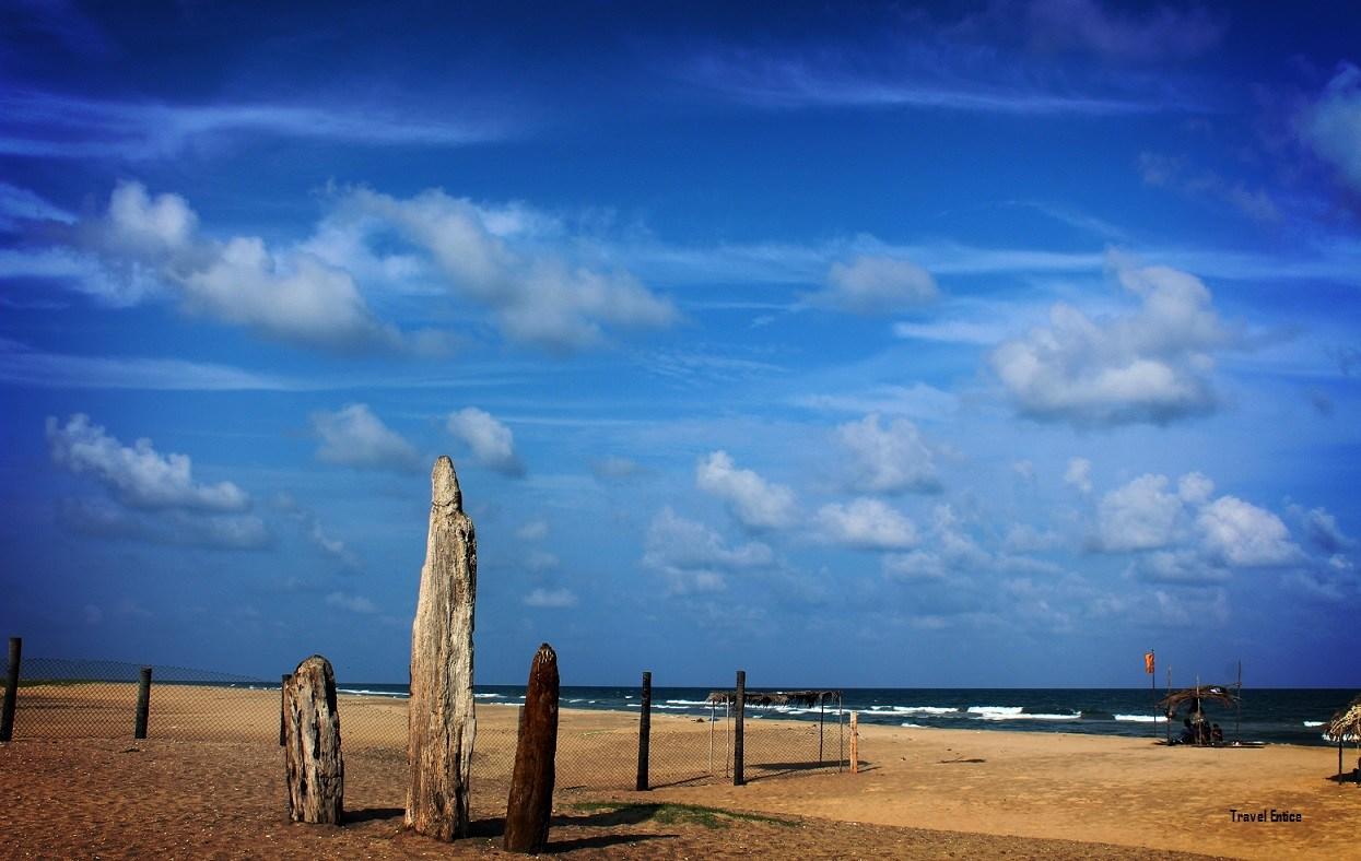 Things to Do in Pondicherry – Paradise Beach