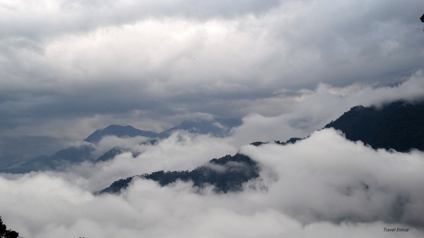 Amazing cloud view from guest house