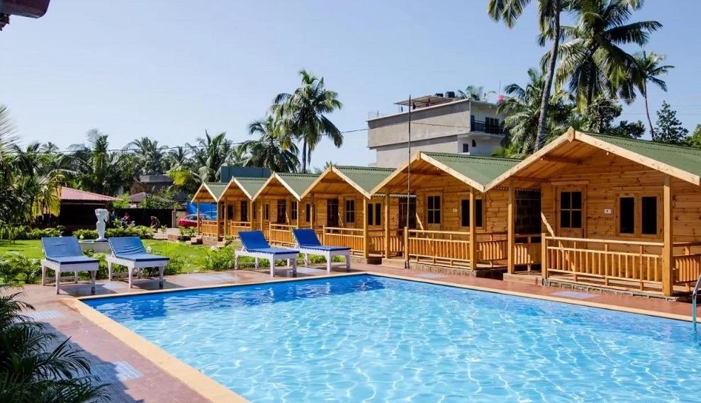 Arambol accommodation - TP Beach Resort