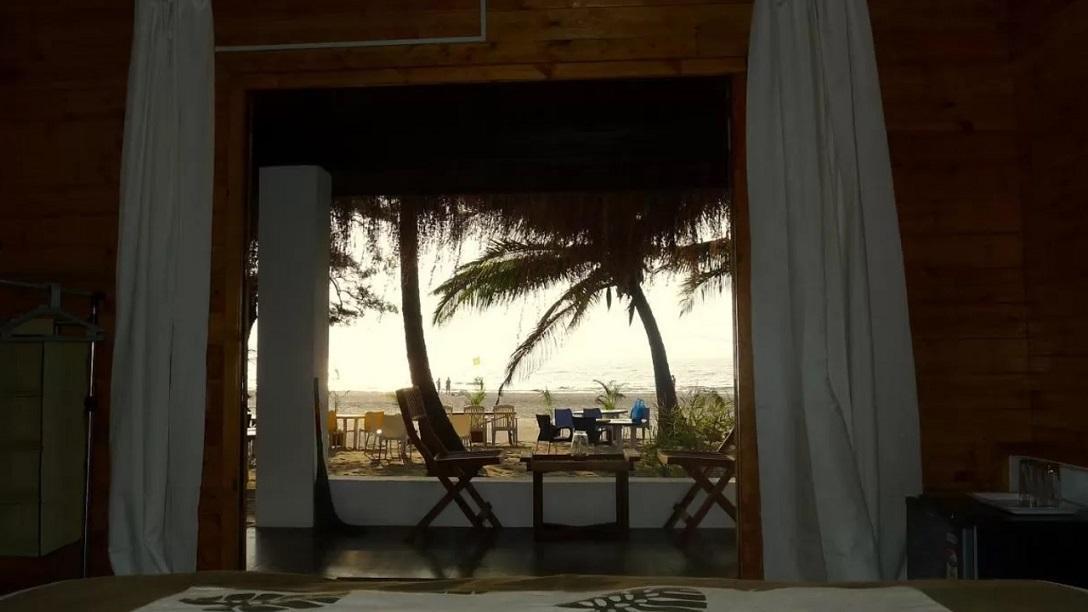 Best Resorts in Ashvem - MamaGoa Beach resort