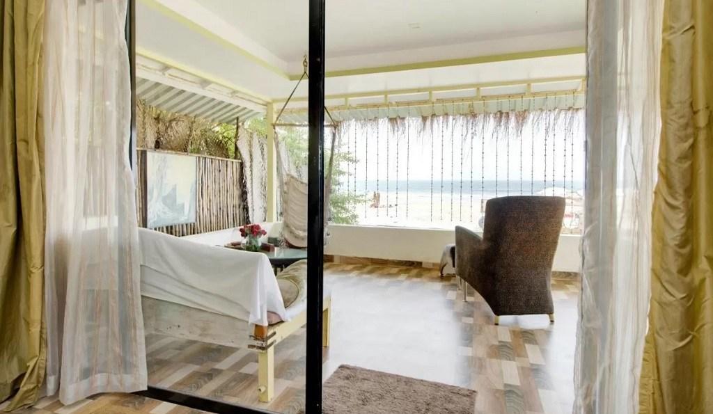 Best Resorts in Ashvem - Lamore beach resort