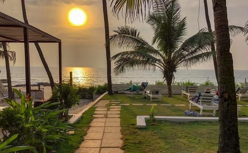 Best Resorts in Ashvem - Leela cottage