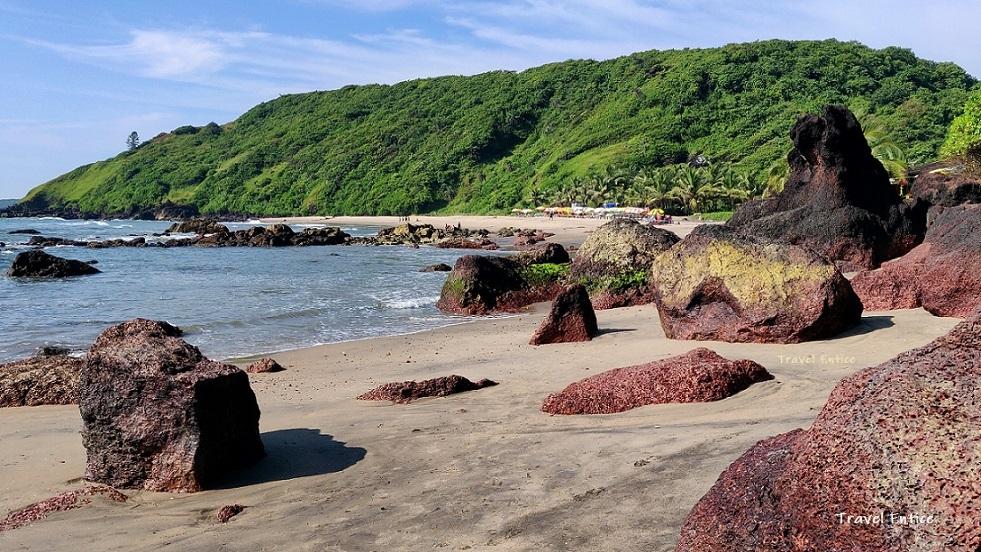 Magnificent Kalacha beach in Goa
