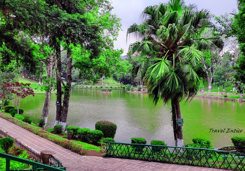 Best places to visit in Shillong - Wards Lake