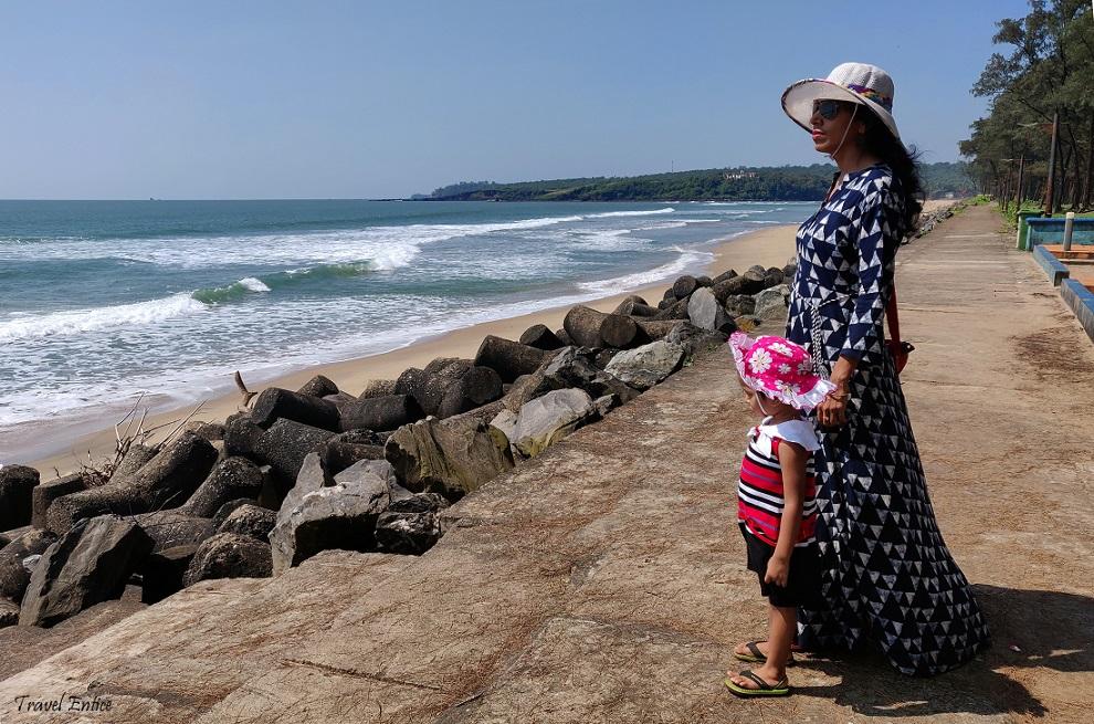 Keri beach in goa