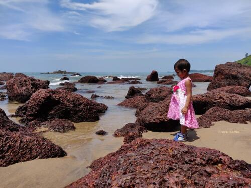 Magnificent Kalacha Beach in Goa - Babys choice.