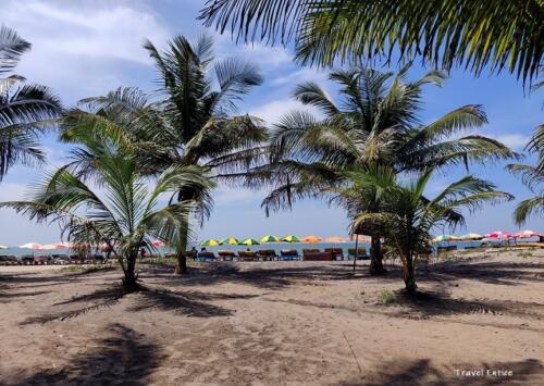 Magnificent Kalacha Beach in Goa - Beach view from lagoon side