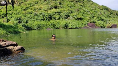 Magnificent Kalacha Beach in Goa - natures swimming pool