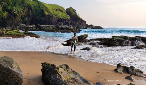 Unexplored Kakolem Beach in Goa 14.