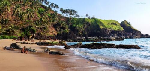 Unexplored Kakolem Beach in Goa 16