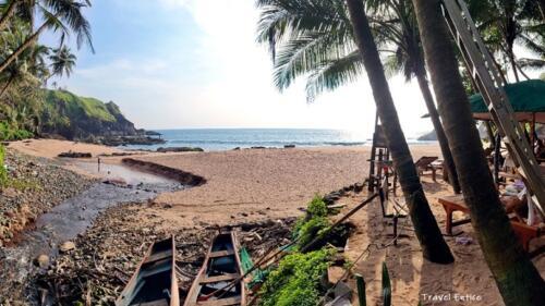 Unexplored Kakolem Beach in Goa 7