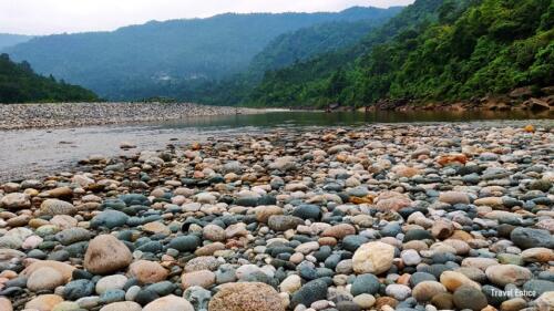 Dawki in Meghalaya: the island