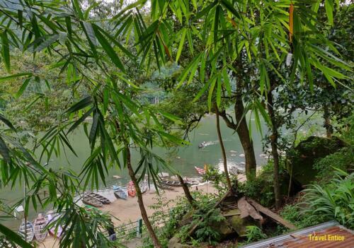Dawki in Meghalaya: view from
